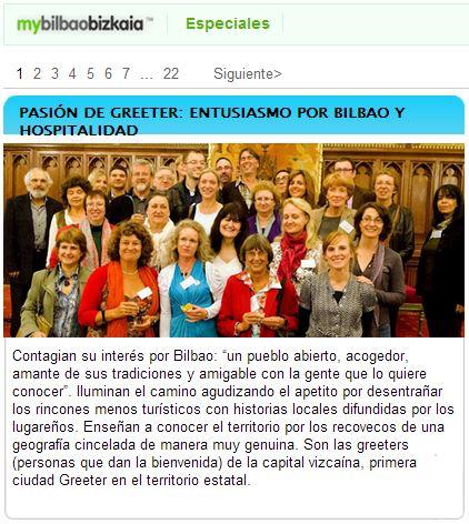 mybilbaoBizkaia - PASIÓN DE GREETER: ENTUSIASMO POR BILBAO Y HOSPITALIDAD